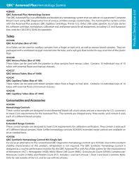 Product List Samples Product Description List QBC Autoread Plus Drucker Diagnostics 3