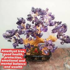 Amethyst money tree / wishing tree/natural stone | Shopee Philippines