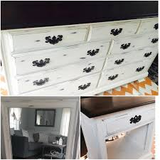 Staining Bedroom Furniture Refinished Bedroom Set Using Annie Sloan Old White Chalk Paint Wax