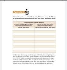 Peran utama seorang ayah adalah … a. Kunci Jawaban Tema 9 Kelas 4 Halaman 70 71 72 73 74 75 76 77 78 79 Buku Tematik Manfaat Sumber Daya Alam Metro Lampung News