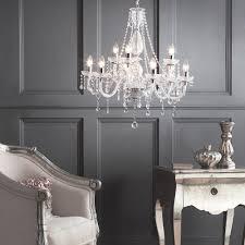 luxurious lighting. Elegant Luxurious Living Room Lighting Clear Chandelier French Glam Glamorous Romance Interior E