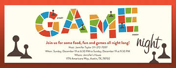 Game Night Invitation Template Free Game Night Invitations Evite