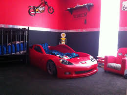 Race Car Room Decor Levis Room Corvette Bedding Set Just Bought The Kid A New