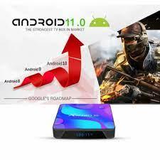 TJBOX X88 Pro 10 Android Tv Box RAM 4GB ROM 128GB RK3318 VERSI Android 11  ORIGINAL
