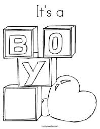 baby shower coloring pages boy baby shower coloring pages print this coloring page itll