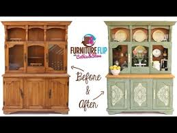 furniture flip transform a french country dining hutch with cathie steve