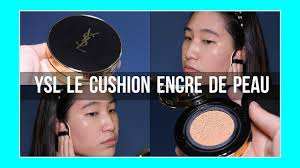 *LUXURY* <b>YSL Le Cushion Encre</b> de Peau DEMO + REVIEW || Oily ...
