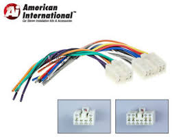 wiring harness connectors toyota example electrical wiring diagram \u2022 Ford Radio Wiring Harness Diagram toyota plugs into factory radio car stereo cd player wiring harness rh ebay com toyota electrical connectors toyota radio wiring harness