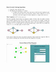 The exact graph coloring problem: Graph Coloring Minimum Number Of Colors New Analysis Of Graph Coloring Algorithm Graphing Color Graphing Printable Coloring Pages