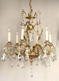antique chandelier restoration grand vintage chandelier with crystals and spire c restoration lighting gallery antique chandelier