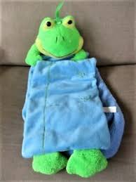 Details About Goffa Plush Frog Growth Chart Hangs Measures To 5 Green Yellow Blue Colors