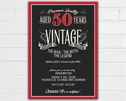50th Birthday Party Invitations Free Printable 50th Birthday