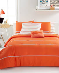 lacoste home thames orangeade comforter set decor by color