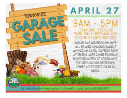 Town Wide Garage Sale 2019 Town Of Colma