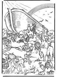 Ark Van Noach 5 Bijbel Kleurplaten Oude Testament
