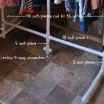 Pvc Pipe Coat Rack Coat Rack Diy Pvc Pipe Coat Hanger Fabdiy With Pvc Pipe Coat Rack 43