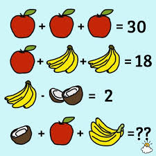 this fruity brain teaser has everyone stumped can you figure out the answer