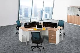 inexpensive office desk. 3 Desk Workstation Ergonomic Computer Table Affordable Office Furniture Portable Inexpensive L