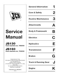 jcb js wiring diagram jcb image wiring diagram jcb js 160 w workshop manual lubricant on jcb js 160 wiring diagram