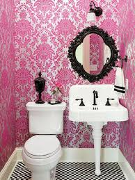 Pink Wallpaper For Bedrooms Pink Theme Bathroom Decorating Ideas 6jpg