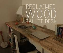Picture of RECLAIMED WOOD PALLET DESK