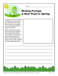 a new plant in spring writing prompt for rd th and th grade writing prompt a new plant in spring