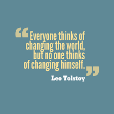 Quote For Change Leo Tolstoy Quote About Change