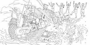お仕事紹介メイツ出版おとなのネコ旅 塗り絵ブックシリーズの線画