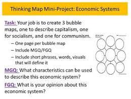World History Chapter 25 Capitalism Socialism Communism Mini Project