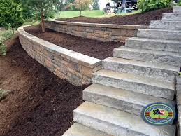 Small Picture Retaining Walls Design Galleries Independence Landscape Lawn Care