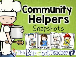 Community Helpers Chart Labor Day Emergent Reader And Community Helpers Activities