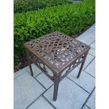 Cast <b>Aluminum</b> - Outdoor <b>Side Tables</b> - Patio Tables - The Home ...