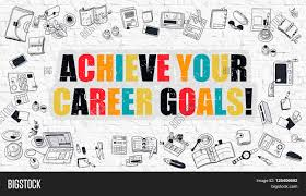 achieve your career goals modern line style illustration achieve your career goals modern line style illustration multicolor achieve your career goals drawn