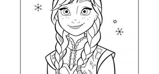Small Picture Frozen Coloring pages wallpaper