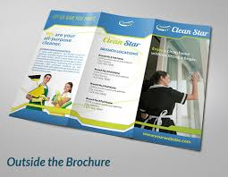 Brochure Templates For It Company Cleaning Brochure Templates 8 Cleaning Company Brochures