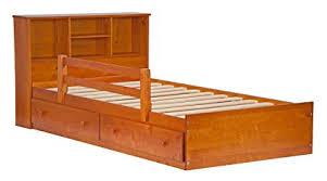 Amazon.com: Palace Imports 2434 100% Solid Wood Kansas Twin Mate's ...