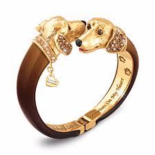 dachshund sophistipups bangle bracelet
