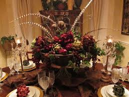 dining table flower centerpiece