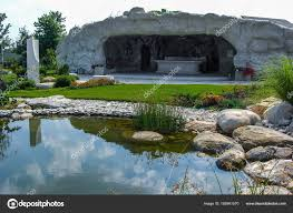 Grotto Design With Pond Pictures Grotto Landscaping Artificial Cave In The Garden