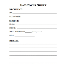 Free Fax Cover Sheet Template Word Generic Fax Cover Barca Fontanacountryinn Com