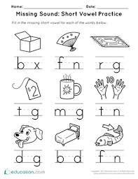 Home » short long vowels. Short Vowels Printable Worksheets Education Com