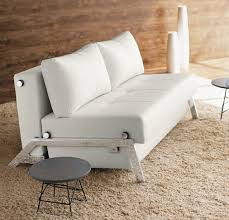 awesome leather pull out sofa picture ideaston single sleeper sectional with attractive modern white bed 26 home stunning modern white leather sofa bed