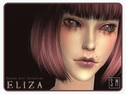 eliza broken doll makeup collection