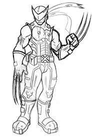 Small Picture Get This Easy Wolverine Coloring Pages for Preschoolers XoN4i