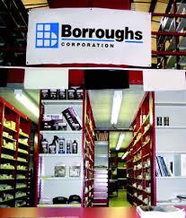 borroughs automotive shelving