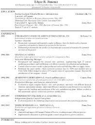 Bartender Resume Format Kievlive Stunning Server Bartender Resume