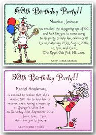 40th 50th 60th 70th 80th 90th personalised birthday party invites funny x10 j135 ebay