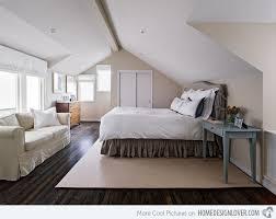 15 Charismatic Sloped Ceiling Bedrooms   Home Design Lover