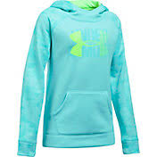 under armour jumper. product image · under armour girls\u0027 printed fleece big logo hoodie jumper n
