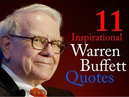 Warren Buffett Quotes Delectable Warren Buffett Inspirational Quotes